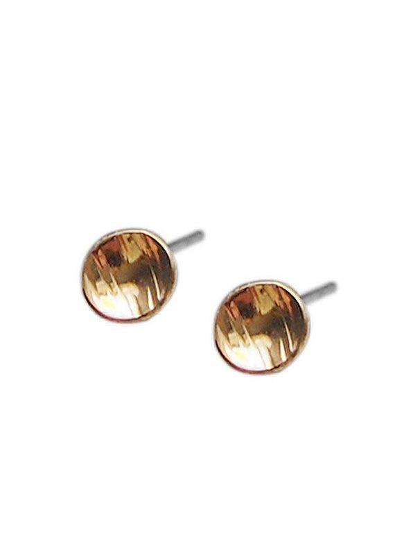Strut Jewelry Strut-Textured Dot Studs