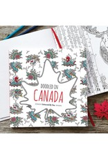 Doodle Lovely Doodle Lovely-Doodled in Canada Colouring Book