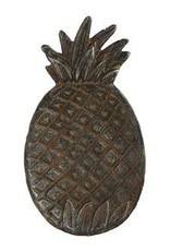 Creative Co-op Creative Co-Op-Cast Iron Pineapple Dish -Distressed
