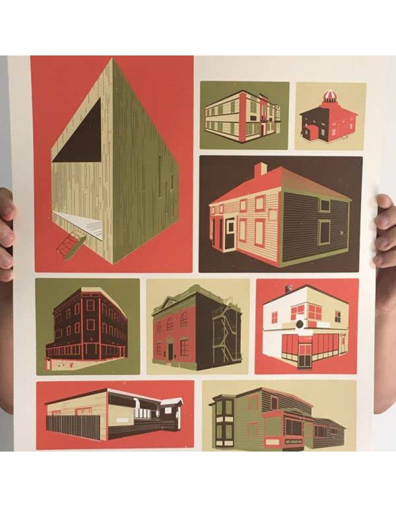Jud Haynes Jud Haynes-Buildings-16x20