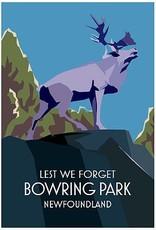 Junk Junk-Poster-Bowring Park Caribou-12x18