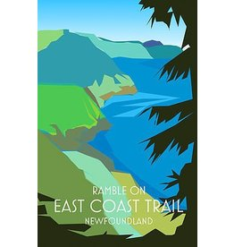 Junk Junk-Poster-East Coast Trail-12x18