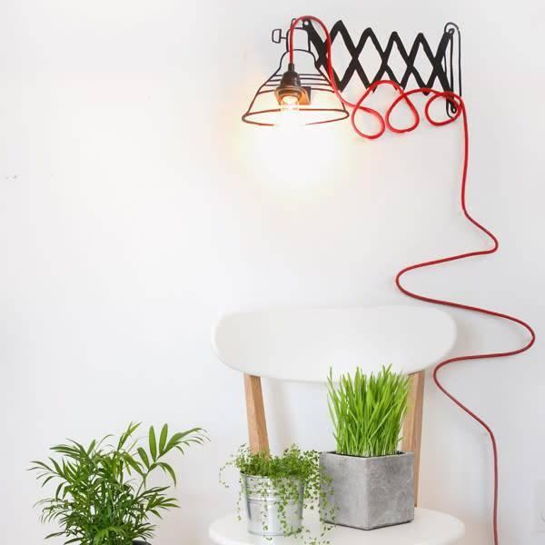 Adzif Adzif-Retractable Lamp-Black