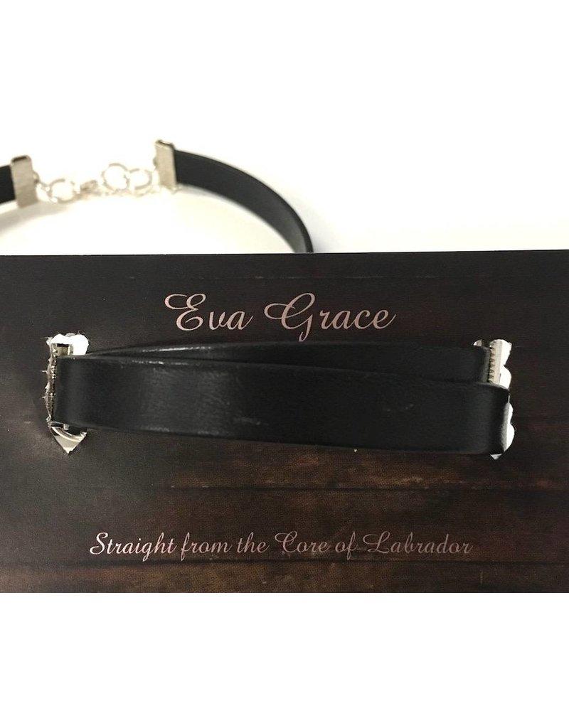 Eva Grace Eva Grace-13mm Adjustable Choker -Black