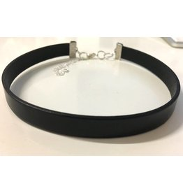 Eva Grace Eva Grace-13mm Adjustable Choker -Black