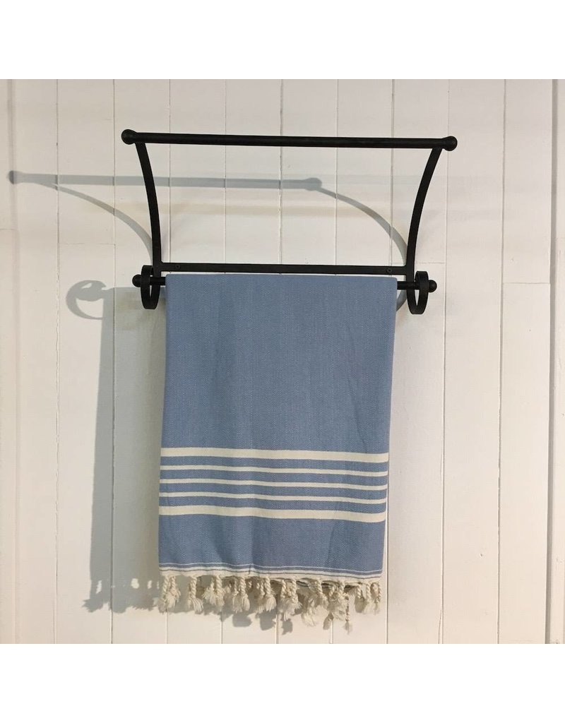 One Sky Inc. One Sky- Five Stripes Body Towel- Shades of Blue