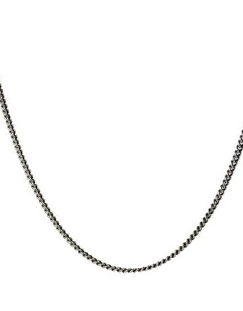 Pyrrha Pyrrha-40 gauge curb chain (oxidized)