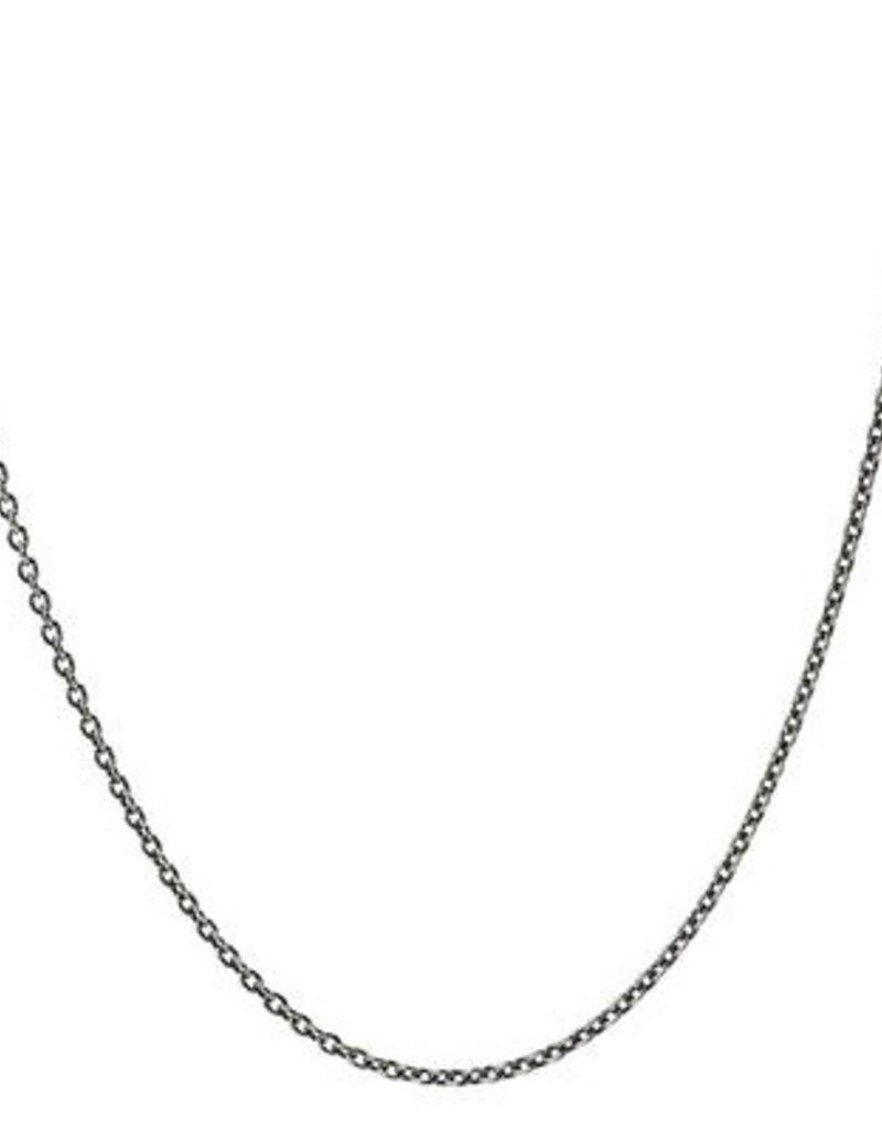 Pyrrha Pyrrha-30 gauge cable chain(oxidized)