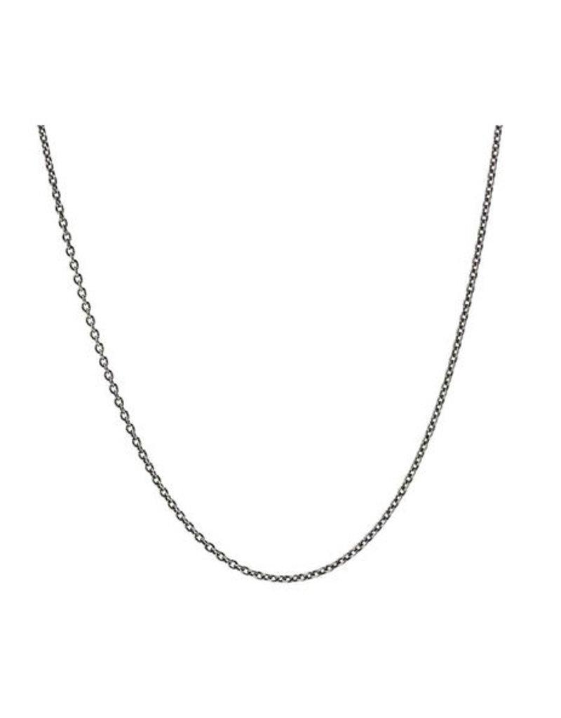 Pyrrha Pyrrha-Fine Cable Chain-Oxidized