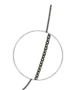Pyrrha Pyrrha-30 gauge cable chain(black)