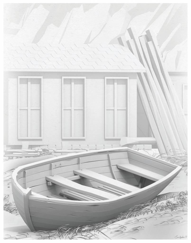Jon Lambe Illustration Jon Lambe-11x14 Print Series