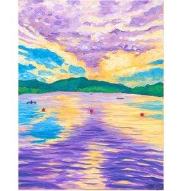 Kaila Erb Art&Illustration Kaila Erb-Rowing in Quidi Vidi