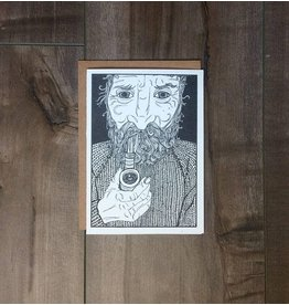 Kaila Erb Art&Illustration Kaila Erb-Old Man Card-5x7