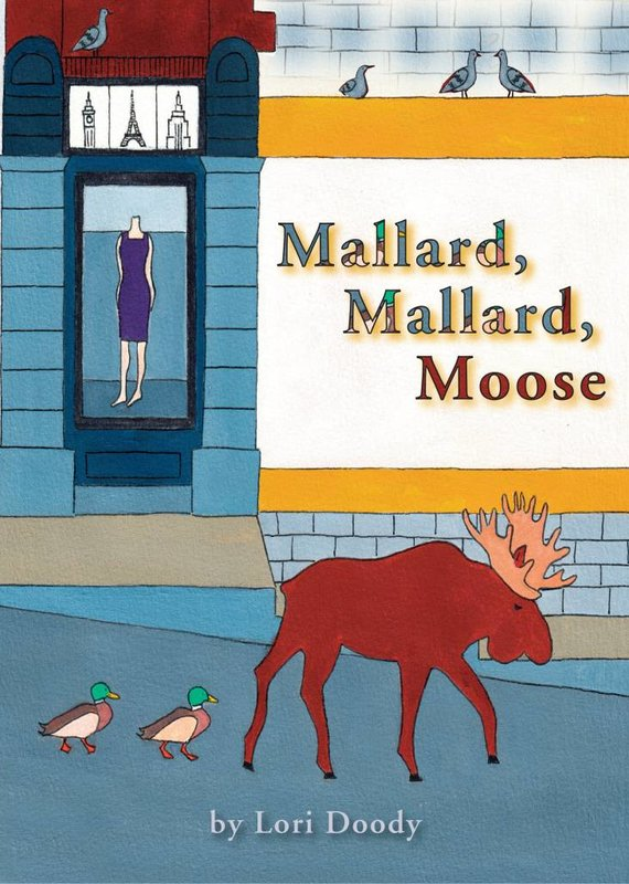 Running the Goat, Books & Broadsides Inc. Mallard, Mallard, Moose Book