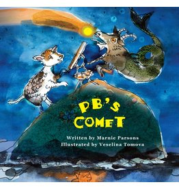 Running the Goat, Books & Broadsides Inc. PB's Comet Book