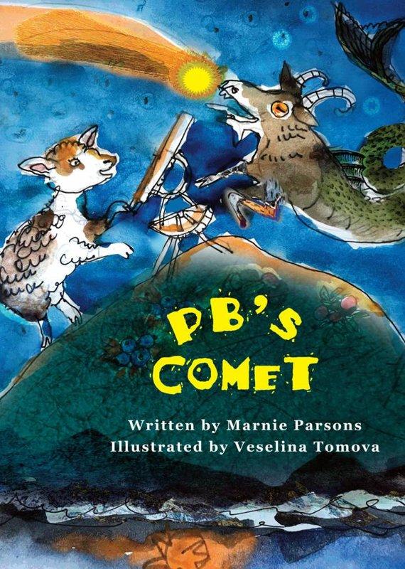 Running the Goat, Books & Broadsides Inc. PB's Comet Book