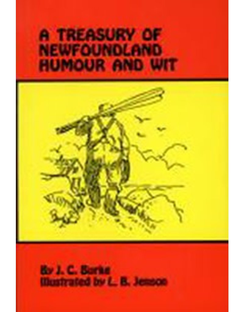 Breakwater Books Breakwater Books-Treasury of NL Humour&Wit
