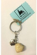 well Rep The Rock- No.1 Teacher Keychain