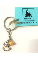 well Rep The Rock-Sun&Clouds Keychain