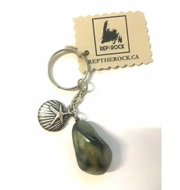 Wellywoo Rep The Rock-Seashell Keychain