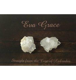 Eva Grace Eva Grace-Quartz Studs