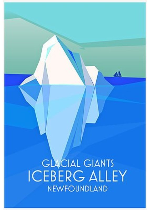 Junk Junk-Poster-Iceberg Alley-12x18