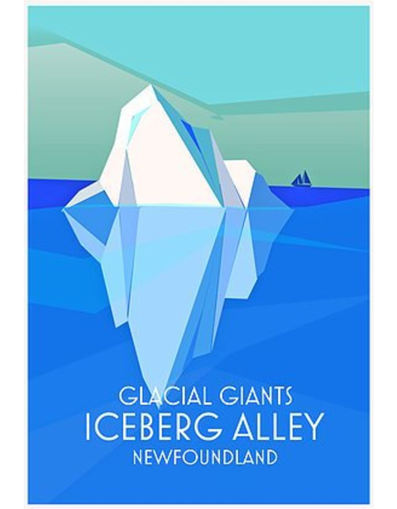 Junk Junk-Poster-Iceberg Alley-12x18