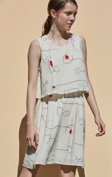 Eve Gravel Eve Gravel-Paysages Dress