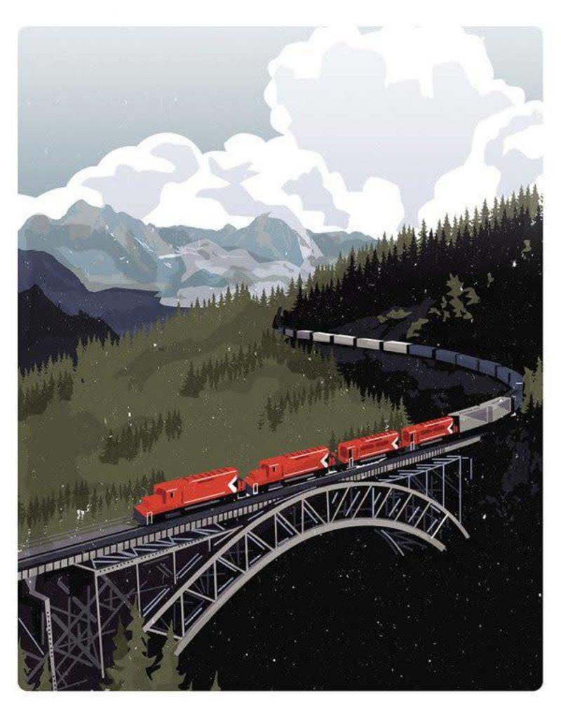 Jud Haynes Jud Haynes-CN Train-8x10