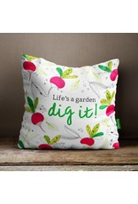 Doodle Lovely Doodle Lovely-Life's a Garden Pillow