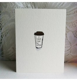 Driven to Ink Driven to Ink-I Like You a Latte