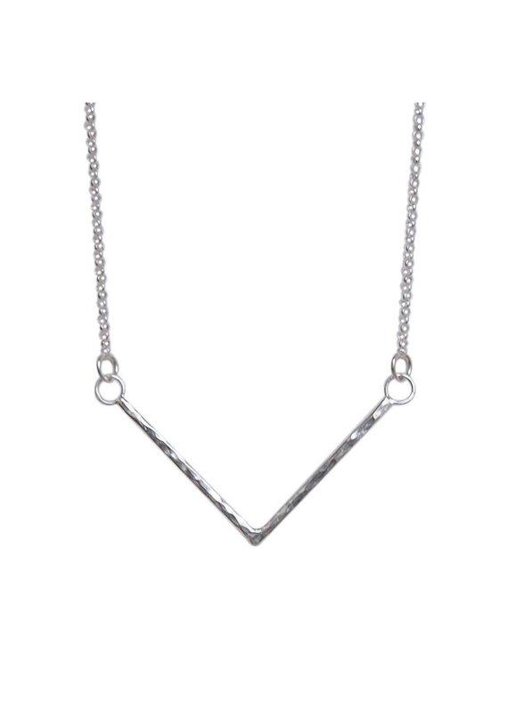 Strut Jewelry Strut-Hammered Chevron