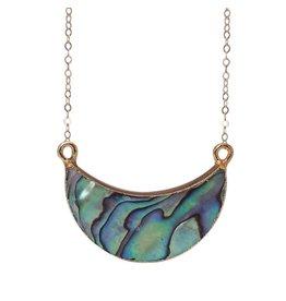 Strut Jewelry Strut-Shell Pendant-14K GF