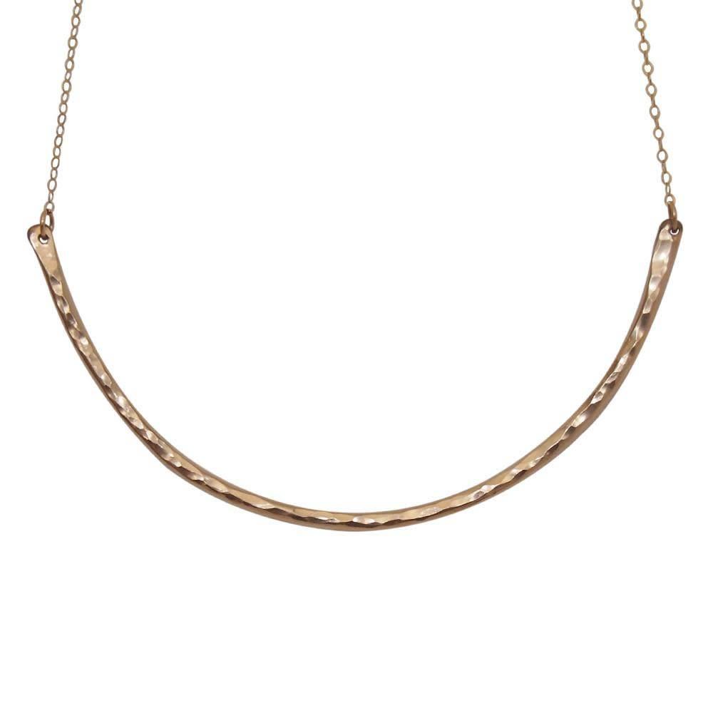 Strut Jewelry Strut-Hammered Collar Necklace