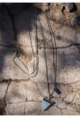 HEN Jewelry Hen-Mojave-Plated Metals/Opalite