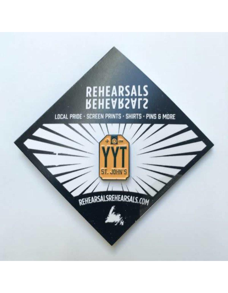 Jud Haynes Rehearsals-YYT Enamel Pin