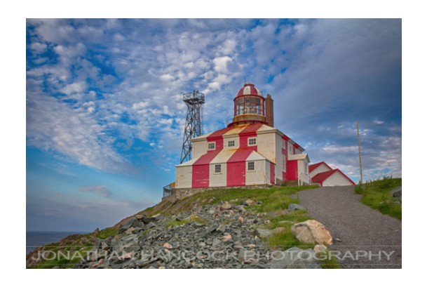 Hancock Gallery Jonathan Hancock-Lighthouse Bonavista
