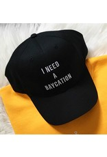 Saltwater Designs Saltwater Designs-I Need a Baycation Baseball Cap
