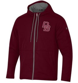 Under Armour EXTRA REDUCTION ON THE MAROON JACKET ONLY.  Supplies are limited!  Under Armour Coldgear Fleece Puffer Jacket