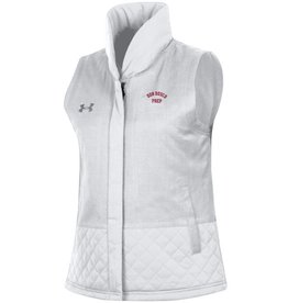 Under Armour SMUMixedMediaWhiteVest - ON CLEARANCE