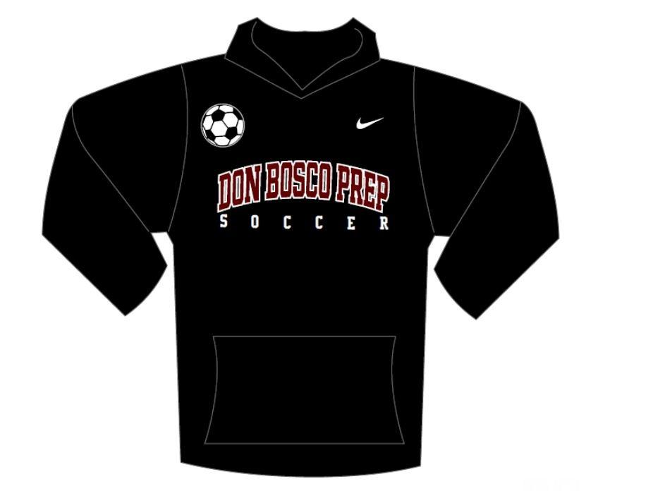 Nike Soccer Black Tackle Twill Sweatshirt