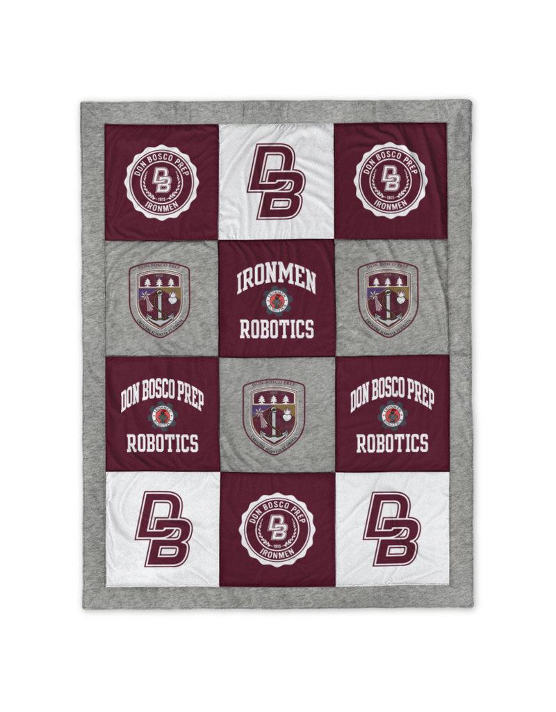 Leaque NEW Robotics quilted blanket