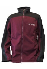 Charles River Maroon/Black Hexport Jacket - x large and 2xlarge in stock