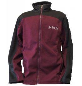 Charles River Maroon/Black Hexport Jacket