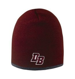 "Logo Fit ""Bright Stripe"" Maroon Hat"