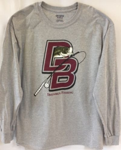 Gildan Long Sleeve DBP Fishing Club T Shirt