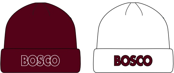 Pukka Pukka hat with BOSCO embroidered on front