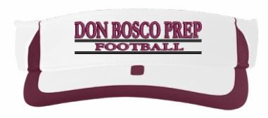 Pacific Headwear DON BOSCO PREP Ironmen or Football Visor