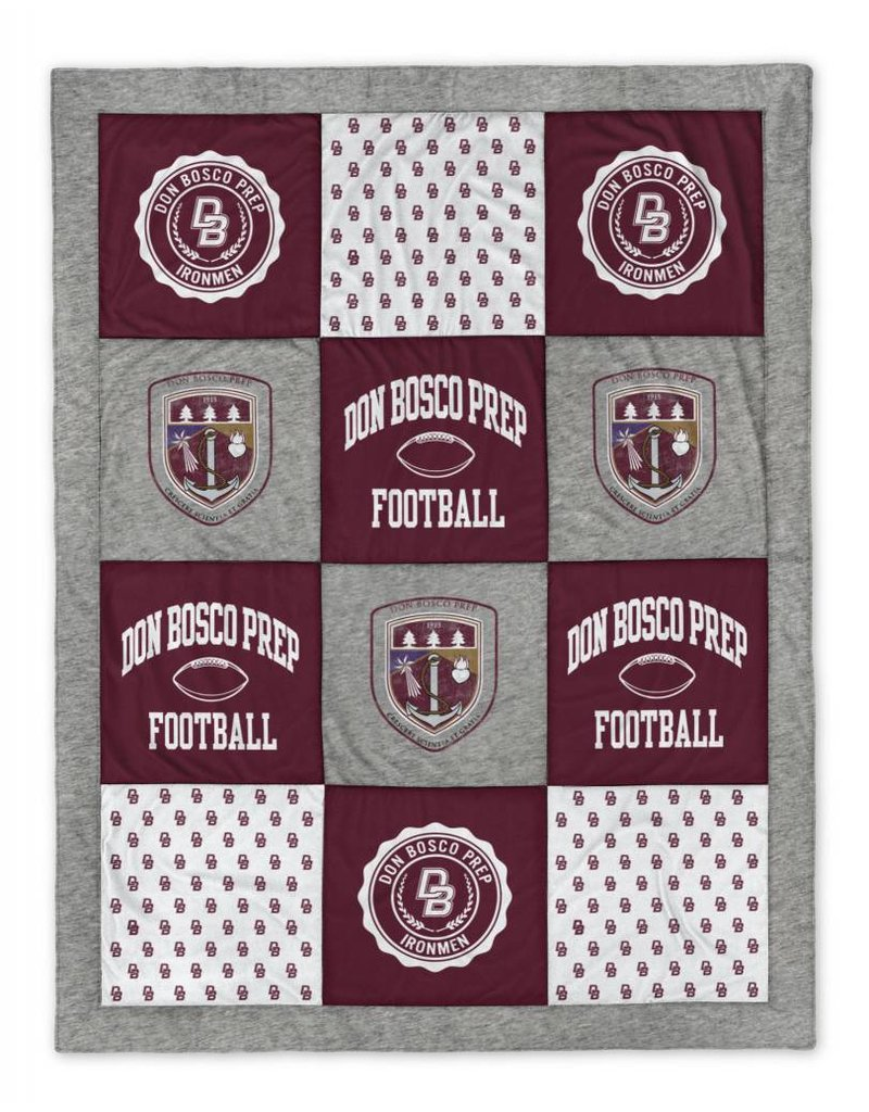 Leaque League Collegiate Quilted Spirit Blankets