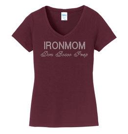 Monogram IronmomBlingSSVNeckNEW